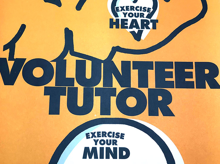 literacy volunteers buffalo and erie county, nonprofit, PSA, poster design, mark wisz, buffalo, ny