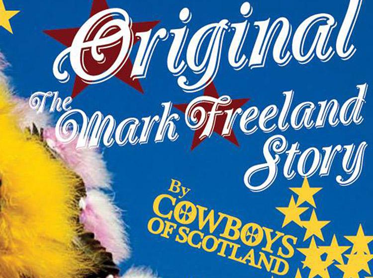 mark freeland story, bud redding, cowboys of scotland, buffalo ny, rock band, nietzchies, allen street, poster deign, buffalo, ny, mark wisz