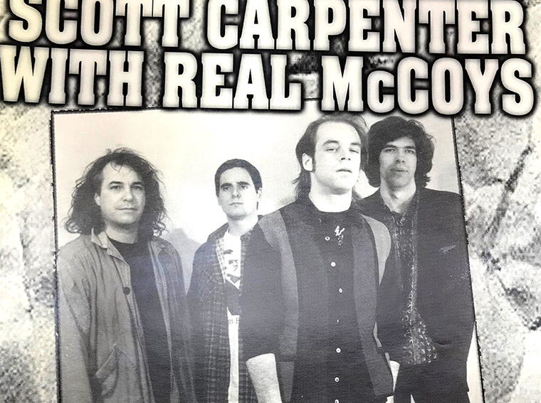 scott carpenter, real McCoys, matt smith, buffalo, ny, rock poster, Mr goodbars
