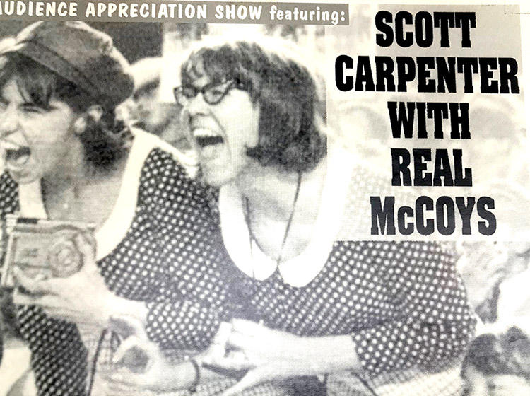 scott caprpenter & real McCoys, rock poster design, mark wisz, matt smith