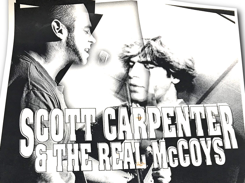 scott carpenter and the real mccoy, 2003, rock poster, poster design, buffalo, ny, mark wisz