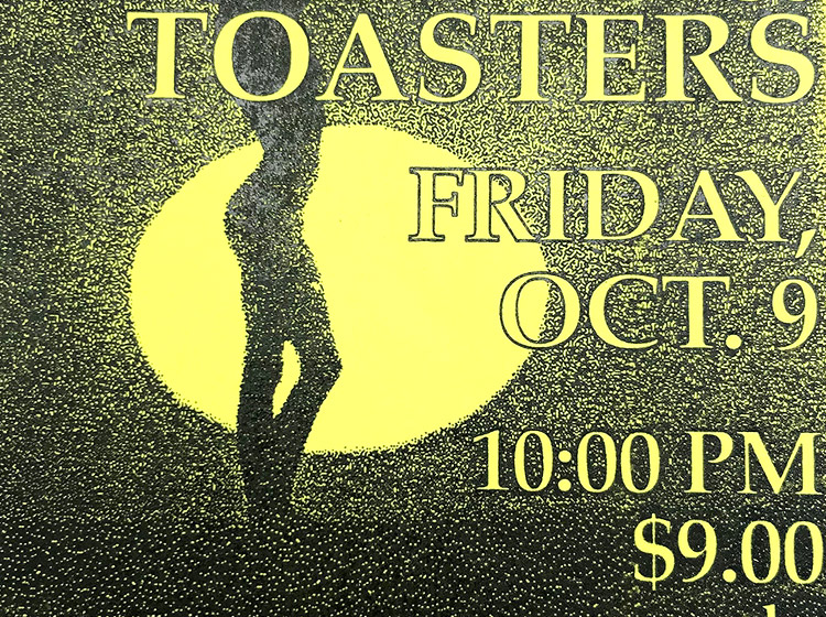 Toasters, ska poster, ICON, buffalo ny, poster design, mark wisz