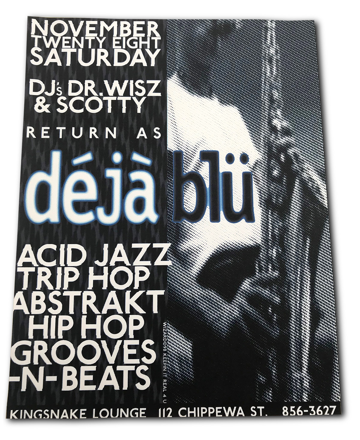 dejablu, kingsnake lounge, dj dr wisz, dj scotty, biggest gig ever, buffalo, ny
