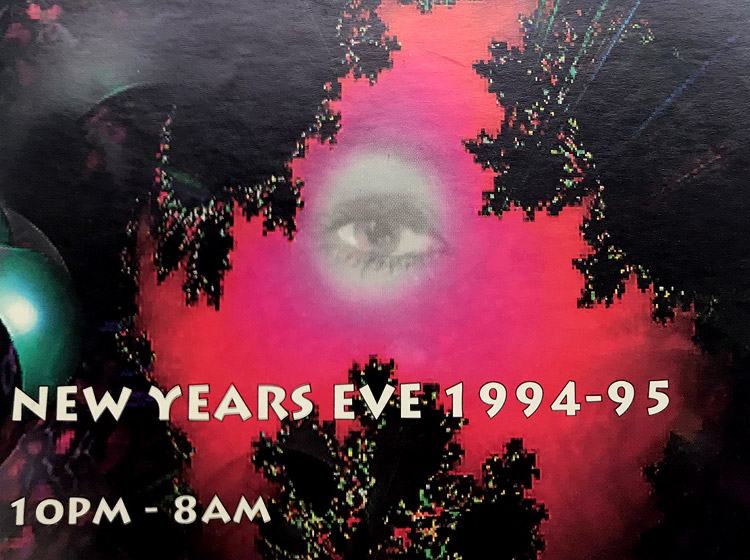 rave flyer, forbidden planet, xotec, buffalo NY, poster design, flyer design