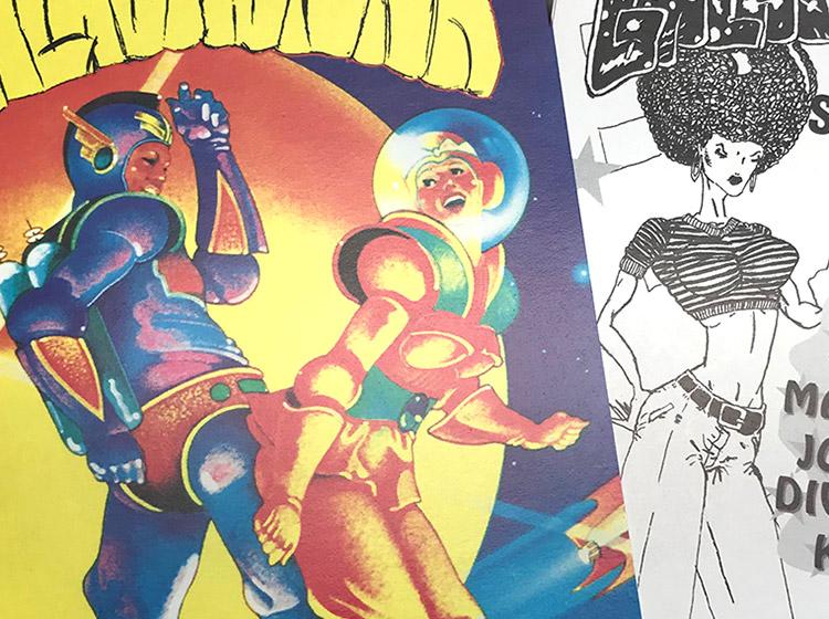 galactifunk, rave, buffalo NY, poster design, flyer design, mark wisz