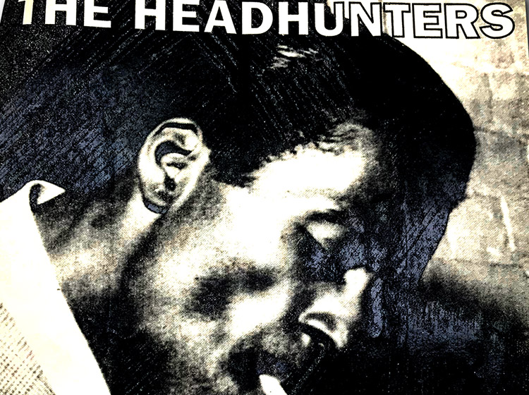 The Headhunters, buffalo ny, poster design, mark wisz