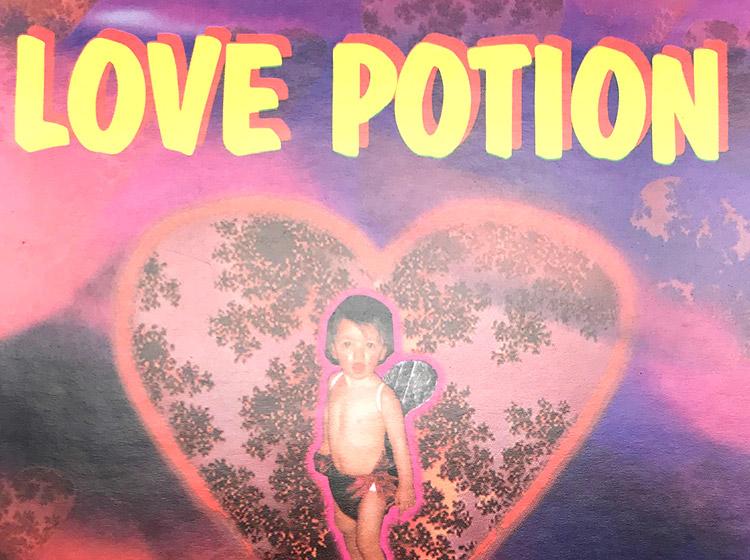 love potion, DJ party, rave, buffalo ny, floor design, poster design, mark wisz