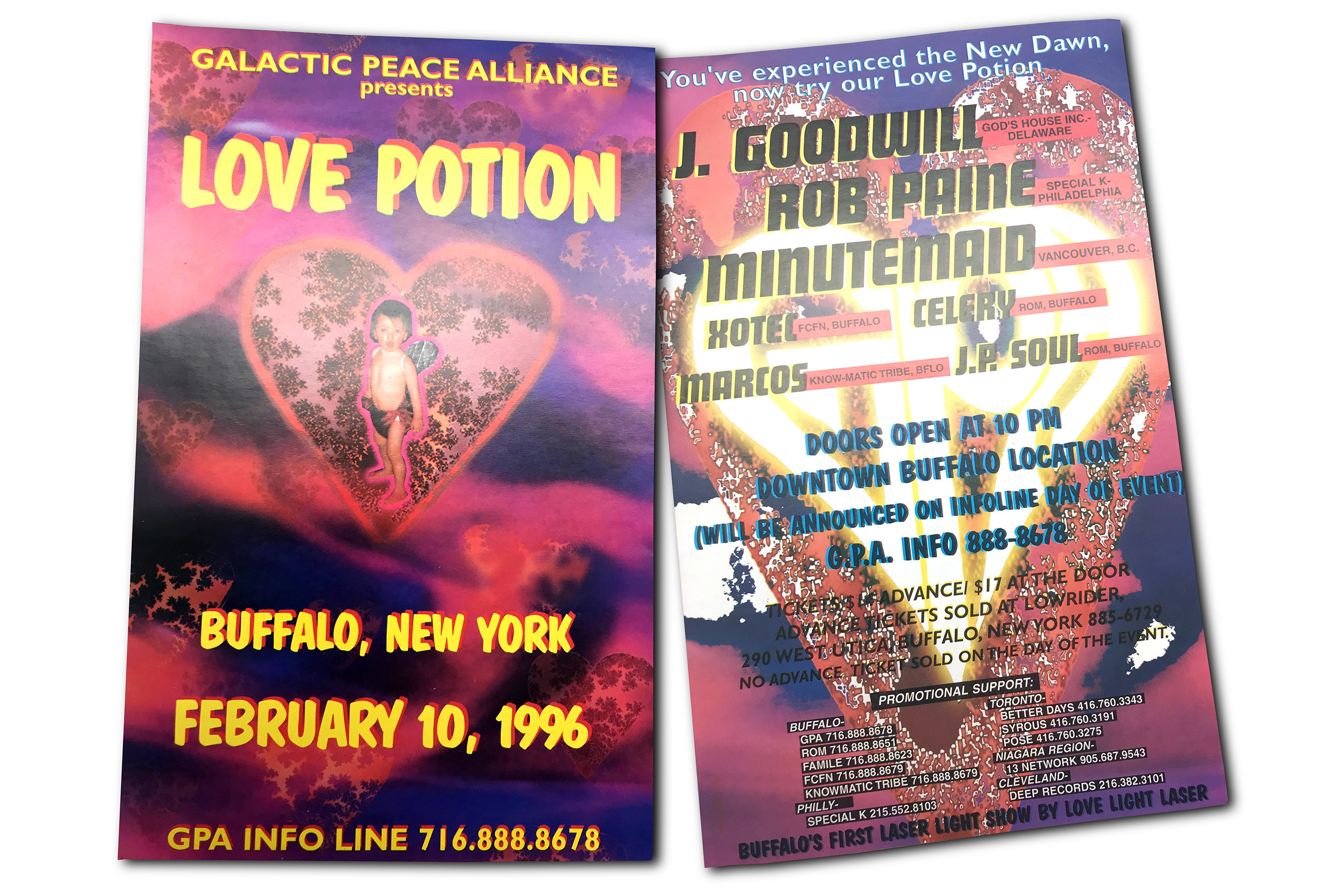 love potion, DJ party, rave, buffalo ny, floor design, poster design, mark wisz