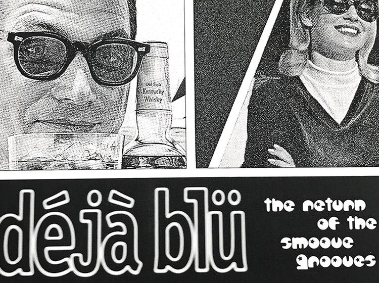 deja blu, dj, buffalo ny, poster design, mark wisz, dr wisz